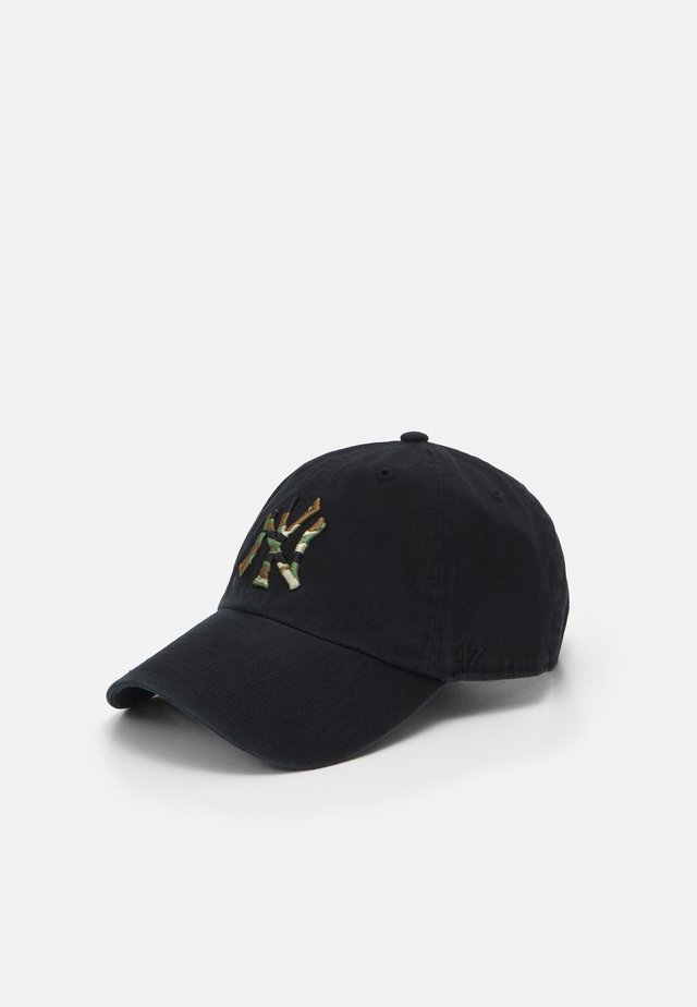 NEW YORK YANKEES CAMFILL CLEAN UP UNISEX - Casquette - black