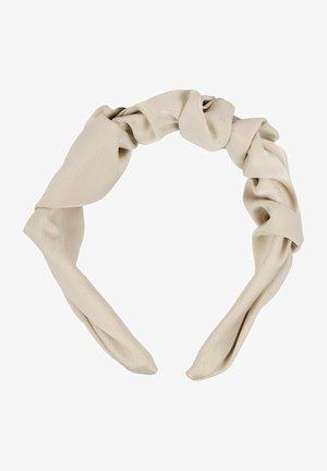 MIT SCHIMMERNDER GEFLOCHTENER OBERFL - Hair styling accessory - beige