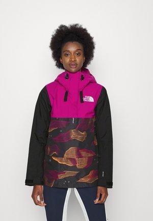 TANAGER JACKET  - Ski jacket - purple/black/orange