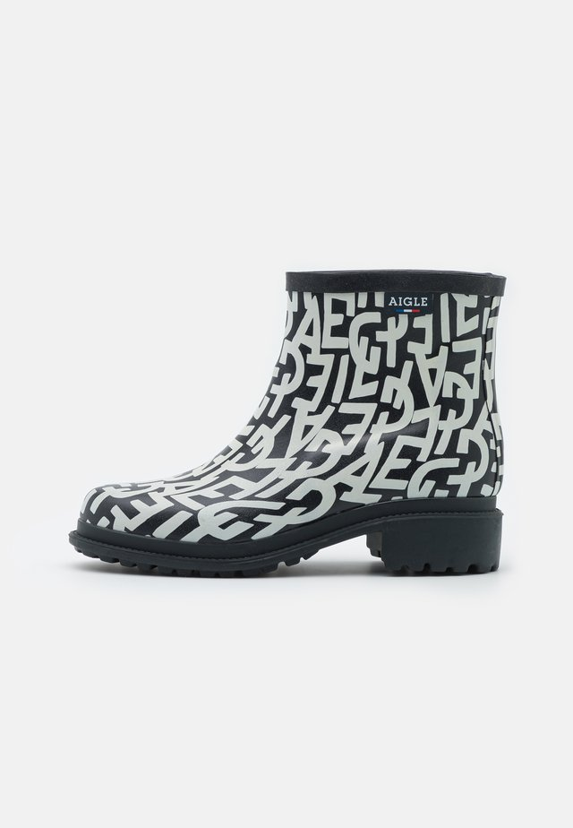 FULLFEEL LOW - Wellies - black/white