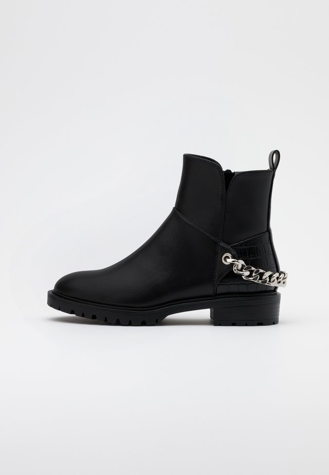 ONLTINA CHAIN BOOT  - Stivaletti texani / biker - black