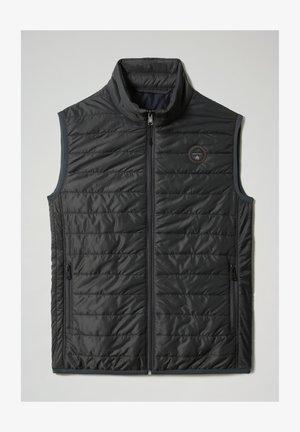 ACALMAR - Waistcoat - dark grey solid
