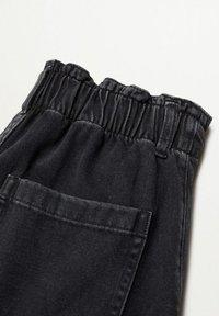 Mango - Slim fit jeans - black denim - 5