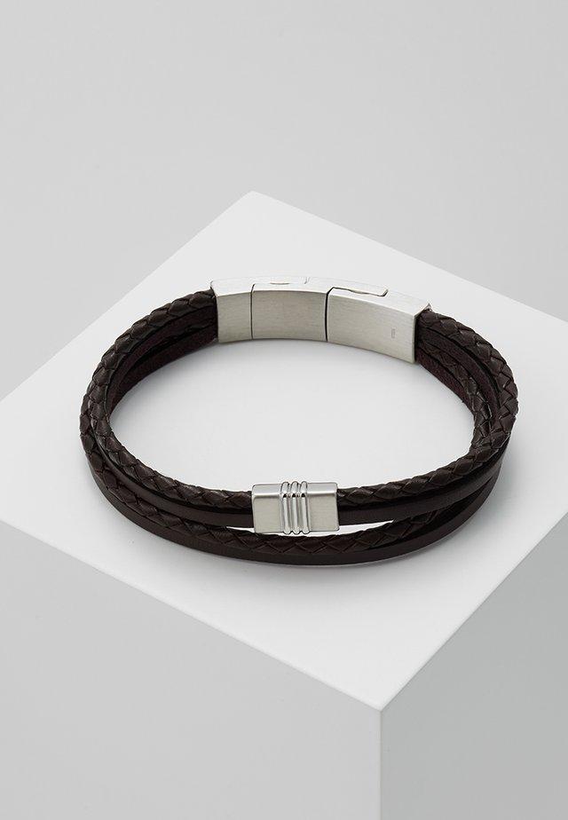 VINTAGE CASUAL - Armband - braun