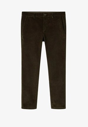 TAPERED FIT  - Trousers - dark green