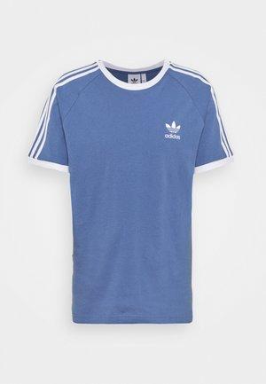 STRIPES TEE - Print T-shirt - crew blue