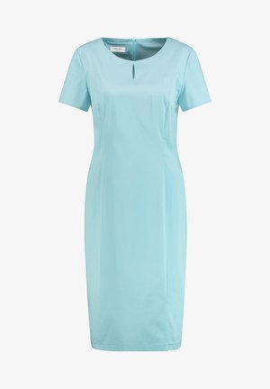 Shift dress - aqua