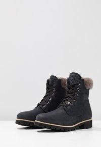 Panama Jack - IGLOO - Lace-up ankle boots - black - 4