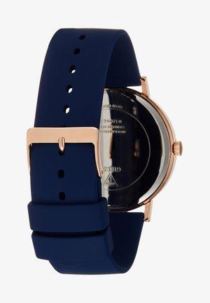 GENUINE DIAMOND - Watch - blue/rose