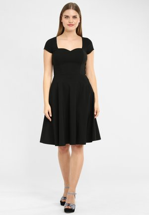 SWING  - Day dress - black