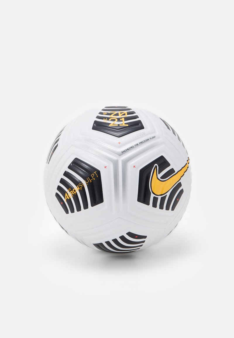 Nike Performance - FLIGHT - Football - white/black/black/laser orange
