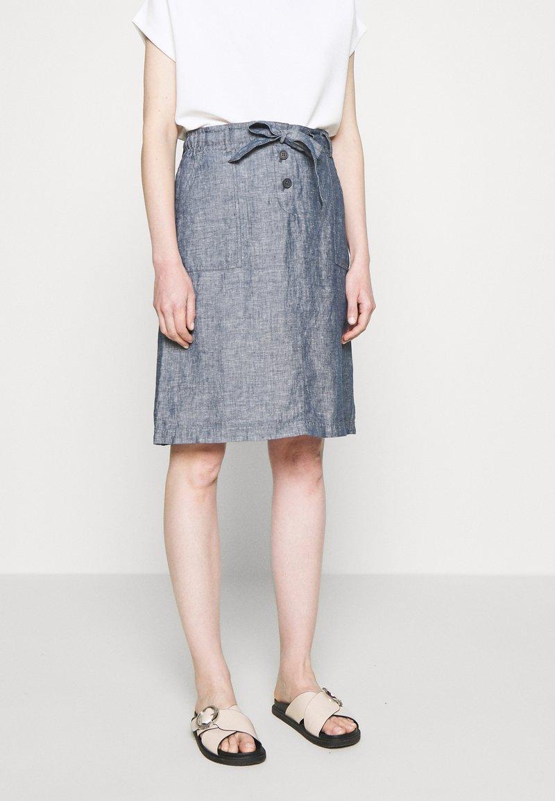 Opus - RANEE - Pencil skirt - forever blue