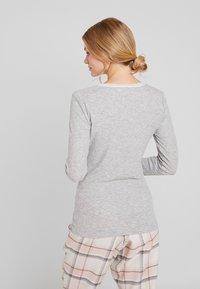 Hunkemöller - Nattøj trøjer - warm grey melange - 2