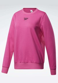 Reebok Classic - CLASSICS LOGO CREW - Sweatshirt - pink - 6