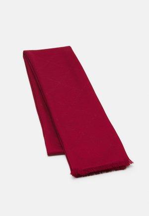 LOGO WRAP - Foulard - dark red