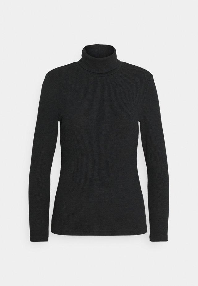 ONLJOANNA ROLLNECK - T-shirt à manches longues - black