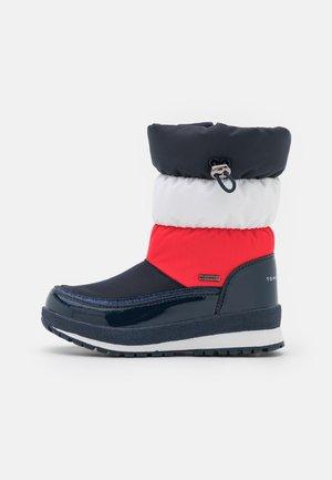 Stivali da neve  - blue/red/white
