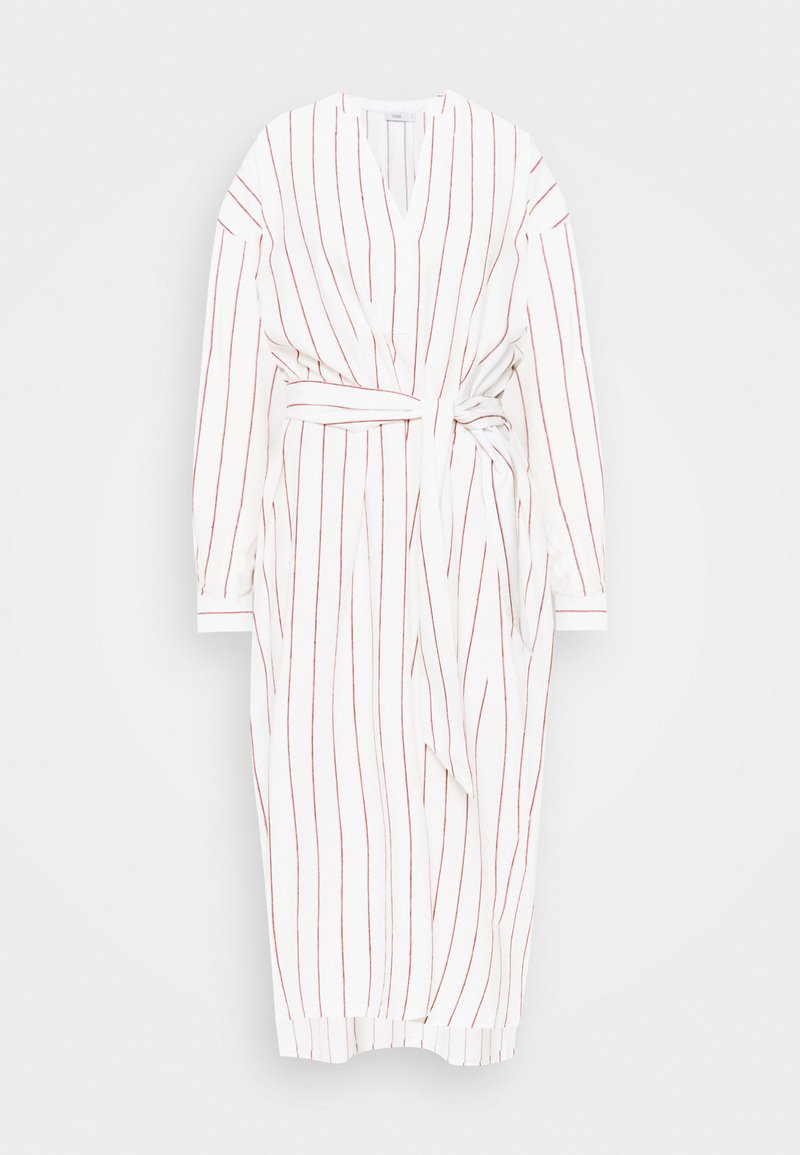 CLOSED - LACEY - Day dress - off-white/red