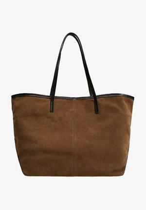 SHOPPER AUS LEDER - Tote bag - braun