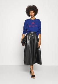 GANT - COLOR LOCK UP CNECK  - Sweatshirt - crisp blue - 1