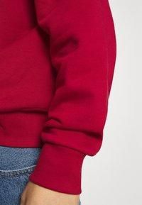 Weekday - RON RUGGER - Sweatshirt - red medium - 4