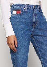 Tommy Jeans - HARPER STRAIGHT - Straight leg jeans - blue denim - 4