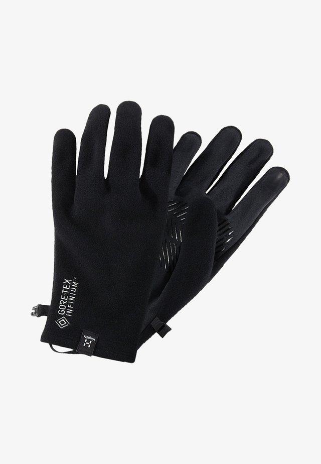 BOW GLOVE - Gloves - true black