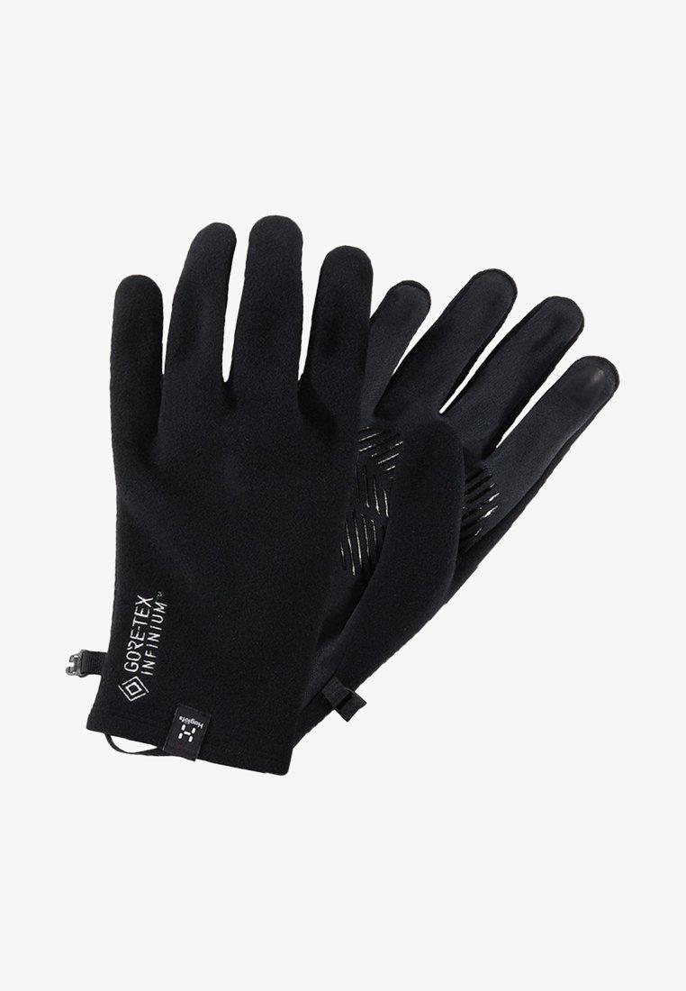 Haglöfs - BOW GLOVE - Gloves - true black
