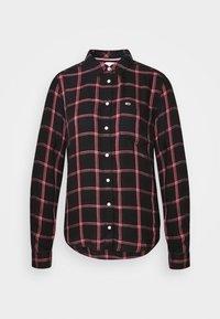 FLUID CHECK - Skjorte - black/glamour pink