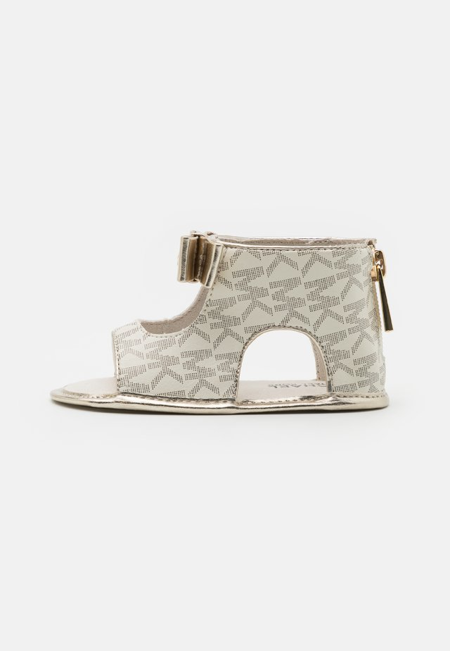 BABY TILLY - Sandals - vanilla