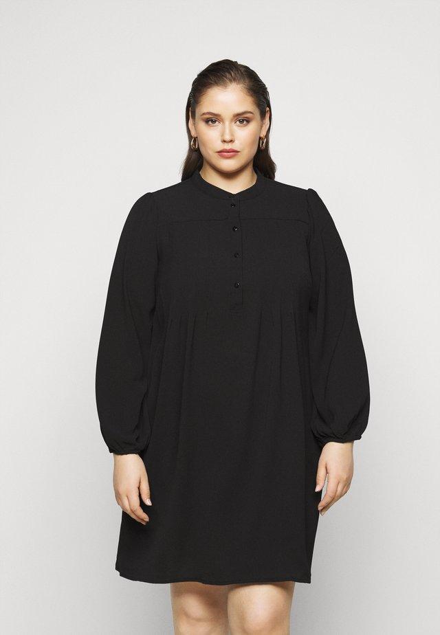 VMSAGA PLEAT SHORT DRESS  - Day dress - black