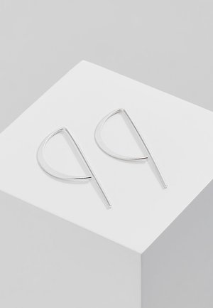 CLASSIC - Pendientes - silver-coloured