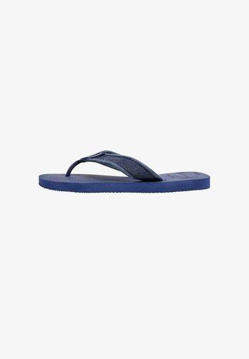 URBAN BASIC II - Pool shoes - indigo blue