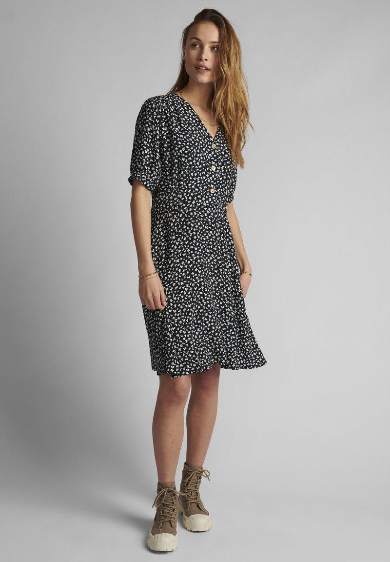 Nümph - Shirt dress - dark sapphire