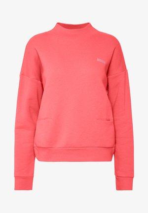 HIGH NECK  - Sweatshirt - coral