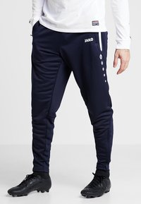 JAKO - ACTIVE - Teplákové kalhoty - navy/white - 0