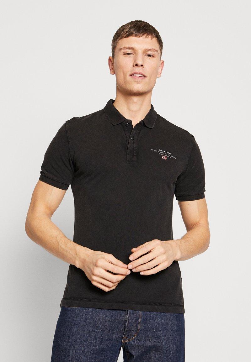 Napapijri - ELBAS - Poloshirt - black
