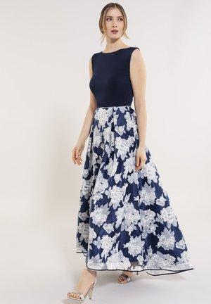 Maxi dress - navy / ivory