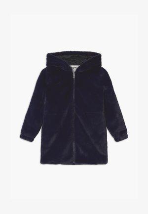 LONG - Zimní kabát - navy
