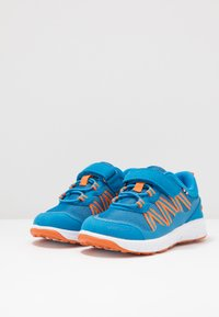 Viking - HOLMEN - Hiking shoes - blue/orange - 3