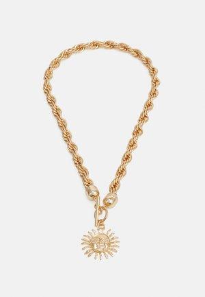 SUNBURST TWIST CHAIN NECKLACE - Collier - gold-coloured