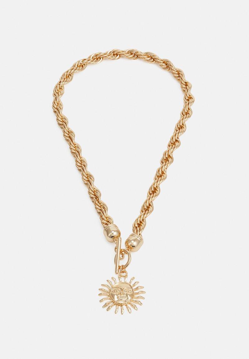 LIARS & LOVERS - SUNBURST TWIST CHAIN NECKLACE - Necklace - gold-coloured