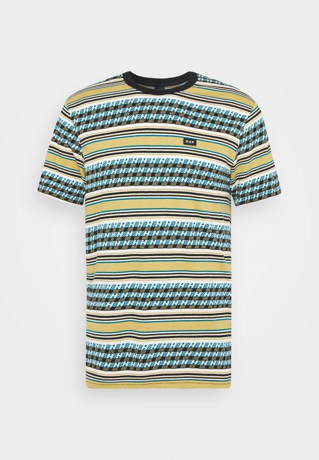 BEDFORD - Print T-shirt - warm beige
