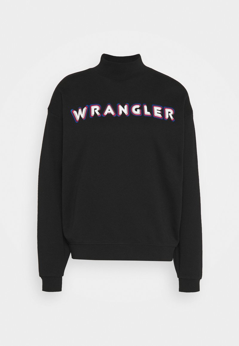 Wrangler - HIGH NECK  - Sweatshirt - black