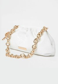 River Island - CHUNKY CHAIN - Handbag - white - 2