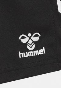 Hummel - CORE POLY UNISEX - Sports shorts - black - 2