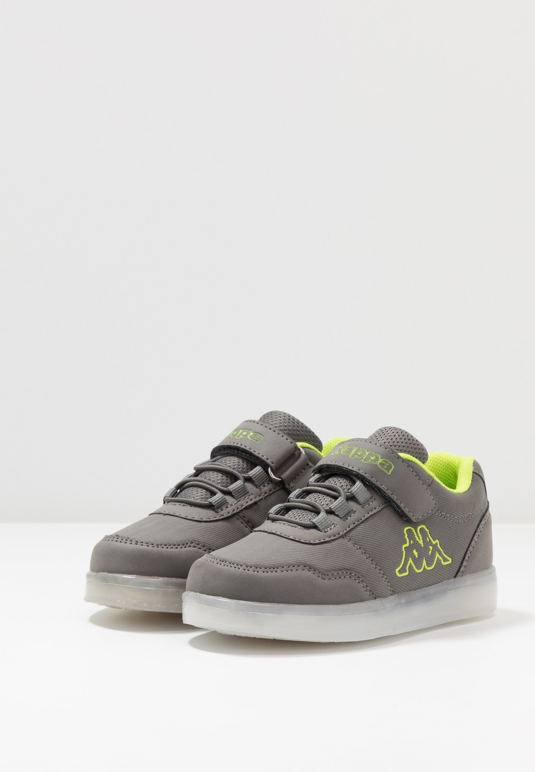 New Style Cheapest Kappa RENDON - Sports shoes - grey/lime | kids shoes 2020 KB93S