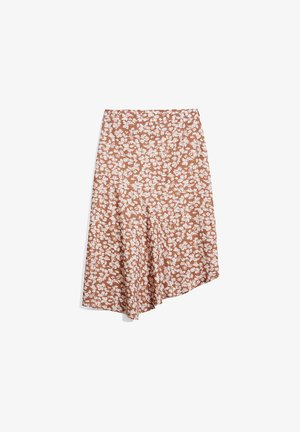 A-line skirt - oatmilk