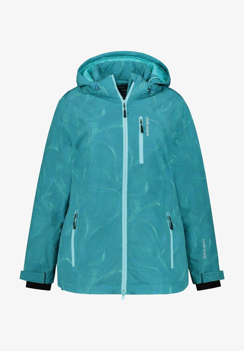 Ulla Popken - Outdoor jacket - turquoise