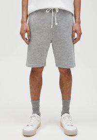 PULL&BEAR - 2 PACK - Shorts - dark grey - 4